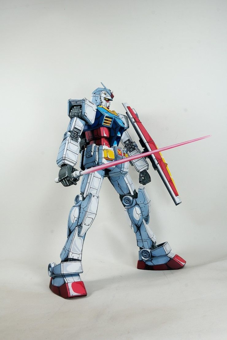 Megasize RX-78  anime coloring by Kipok, Nam (Korea)   supported by  http://www.signaturedition.com