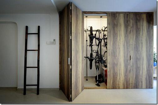 Bike storage for the home pinterest bike storage we for Armario exterior para guardar bicicletas
