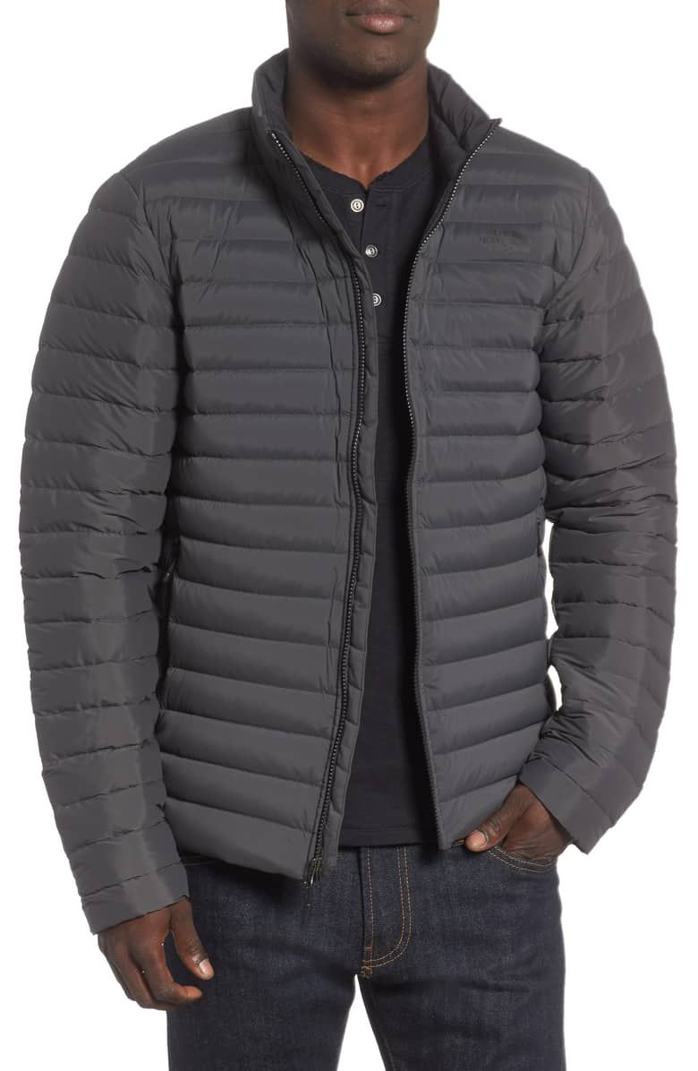 The North Face Packable Stretch Down Jacket Nordstrom Down Jacket Jackets Packable Jacket [ 1196 x 780 Pixel ]