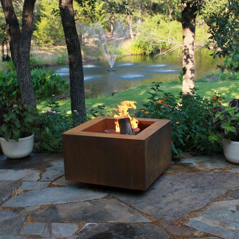 originelle Feuerschalen im Garten platzieren Zukünftige Projekte - feuerschale im garten