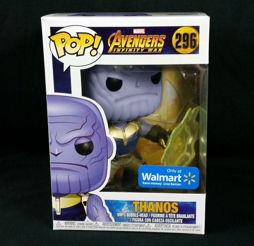Avengers Infinity War Thanos Funko Walmart Exclusive