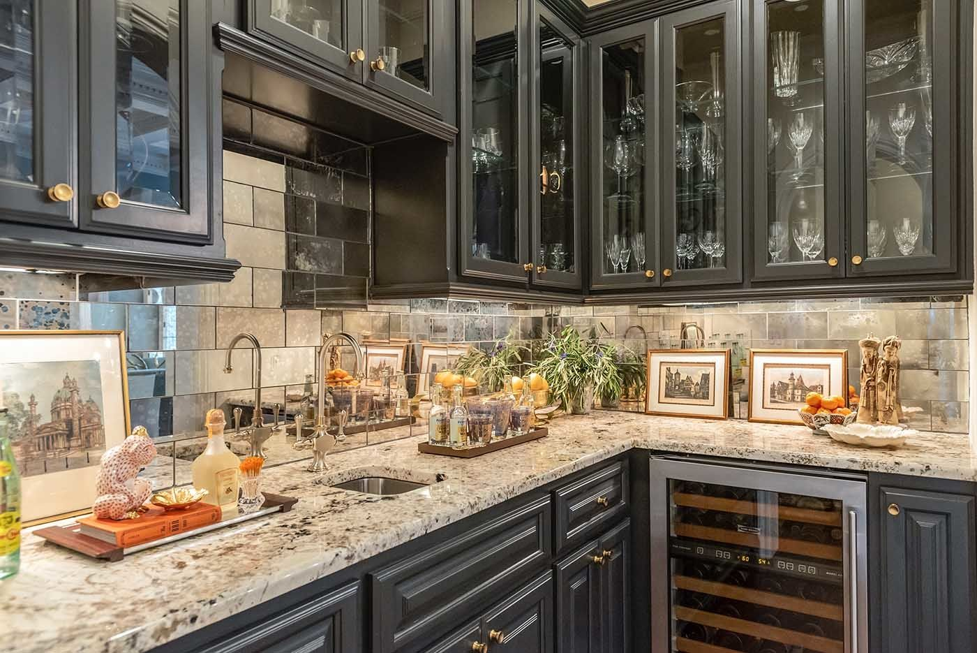 San Antonio Cabinet Painting Project Gallery See Our Work Paper Moon Painting In 2020 Painting Cabinets Kitchen Island Cabinetry Grey Painted Kitchen