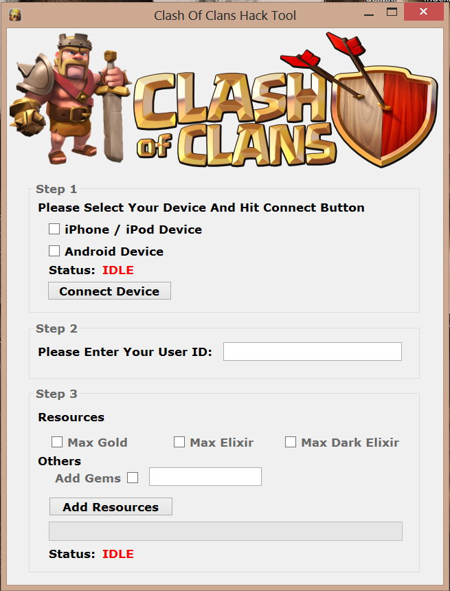 download hacked clash of clans