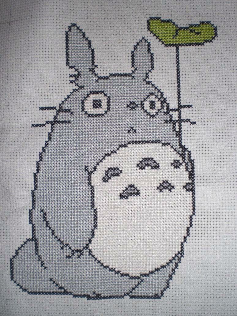 Totoro broderie ide pinterest explore totoro stitching patterns and more bankloansurffo Images