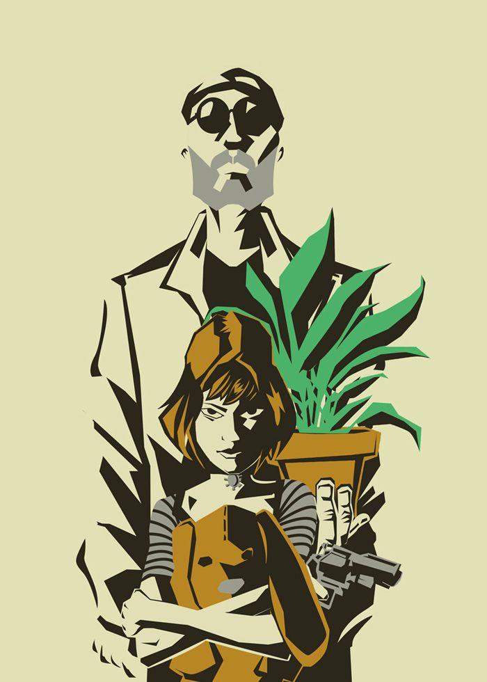 Леон и матильда постер