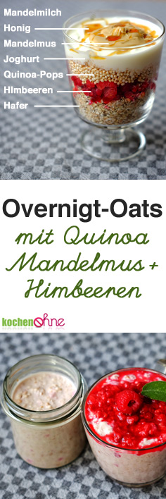 overnigt oats mit himbeeren mandelmus clean eating rezept fr hst ck ohne weizen glutenfrei. Black Bedroom Furniture Sets. Home Design Ideas