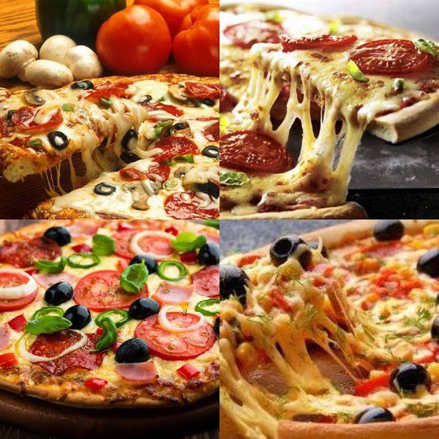وصفتك معنا طريقة عمل البيتزا هت الإيطالية مثل المطاعم Vegetable Pizza Food Pizza