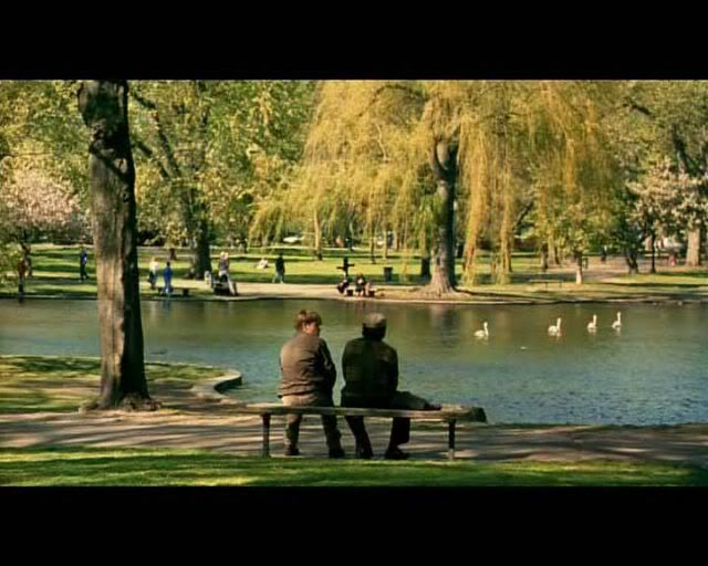 Scene From Good Will Hunting Sample Natural Lighting Light Shadows Contrast Good Will Hunting Cinematography Film School