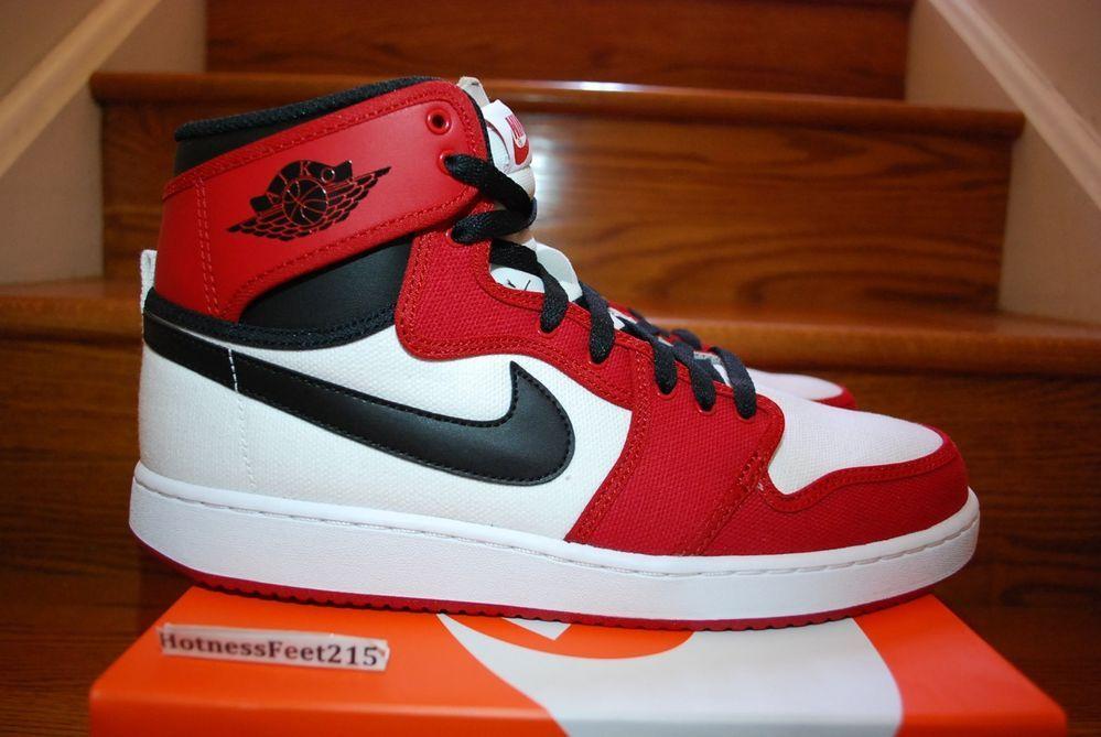 Nike Air Jordan 1 AJ KO High OG Chicago White Black Red O53t3214