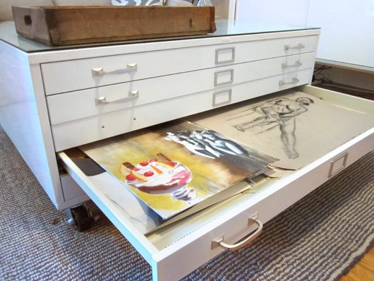 Another Brooklyn Blog: before & after: flat file