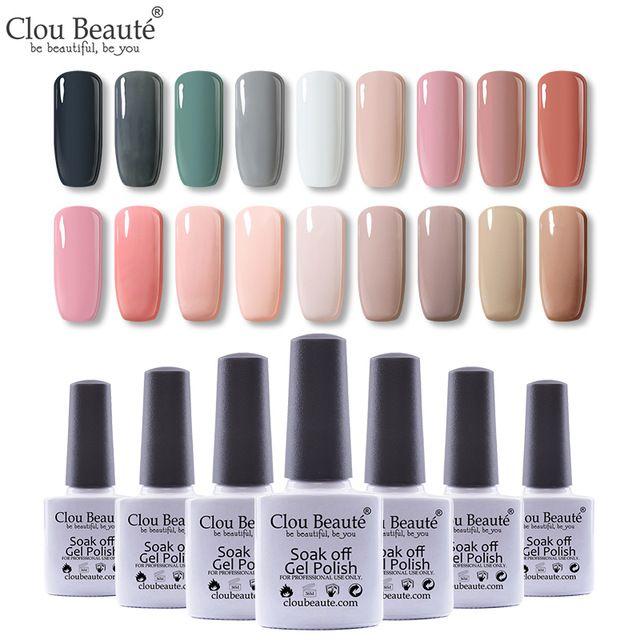 Clou Beaute Semi Permanent Varnish UV/LED Gel Nail Polish