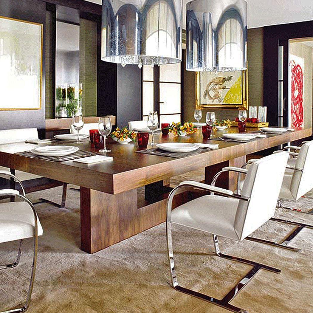 Cadeira BRNO  Dining room table decor, Modern dining room, Dining
