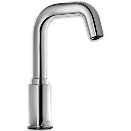 American Standard Serin Deck Mount Touchless 0 5 Gpm Commerical Bathroom Faucet In Chrome Faucet American
