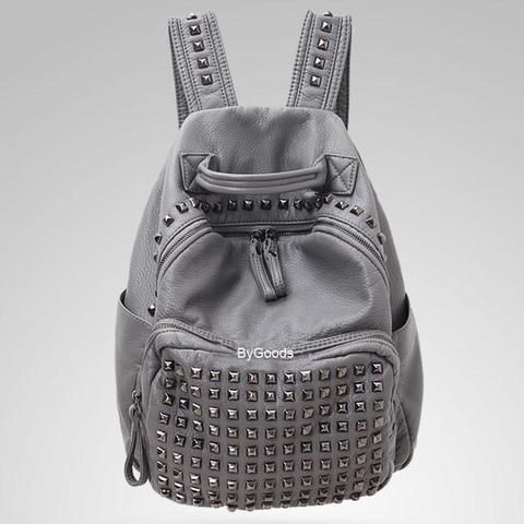 Photo of Vintage Rivet Waterproof Backpack