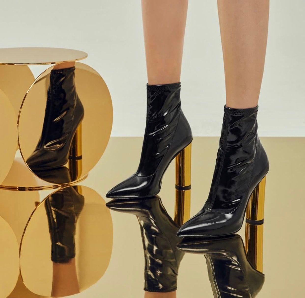 6e2cd50b6eff6 Giuseppe Zanotti The Maida Booties 2019  shoes  shoesaddict  sandals   zapatos  estilo  fashion  style  vanessacrestto  stiletto