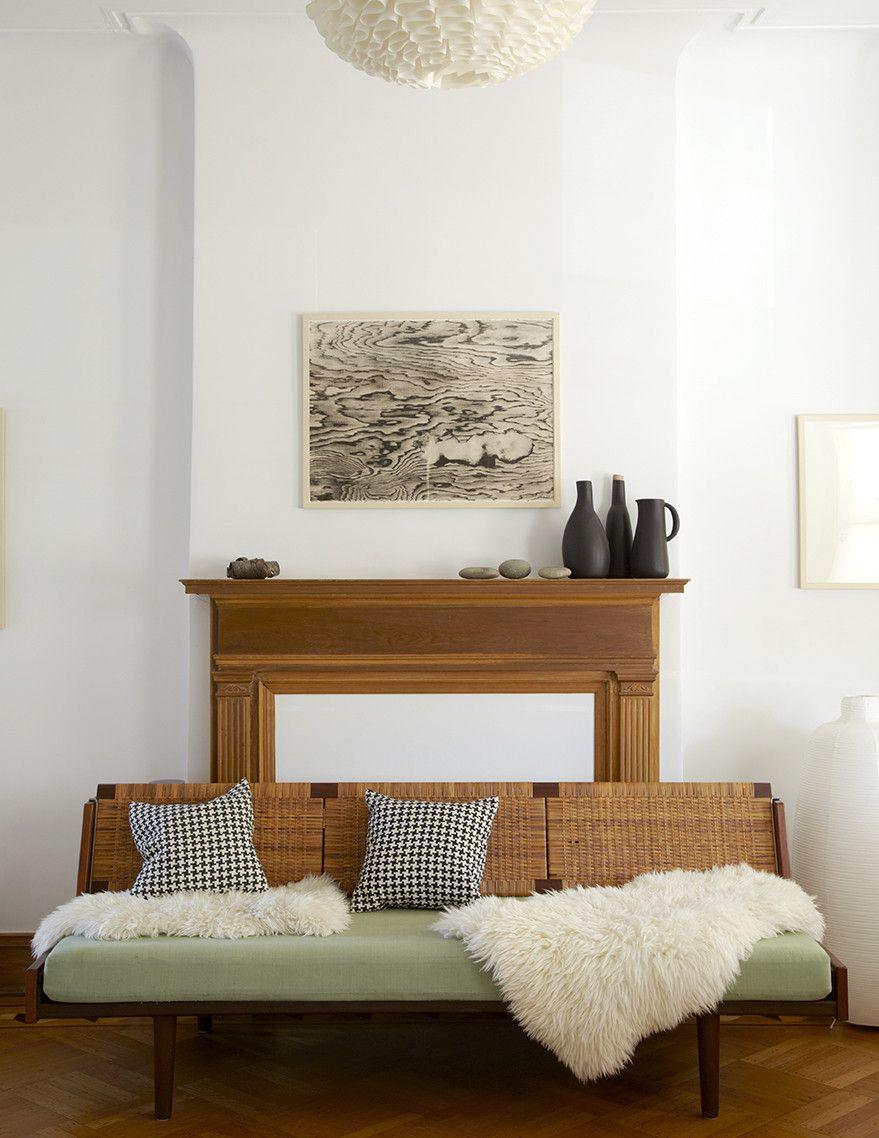 Carina Villinger's Brooklyn home | Lonny magazine #vintagedecor #vintageinspiration