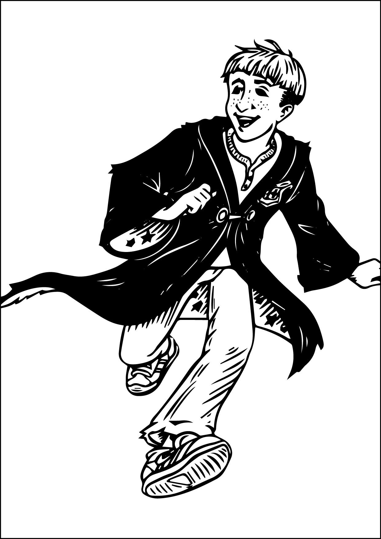 Nice Harry Potter Para Colorear 06 09 2015 234303 Check More At Http Www Mcoloring Com Index Php 2 Harry Potter Coloring Pages Coloring Pictures Harry Potter