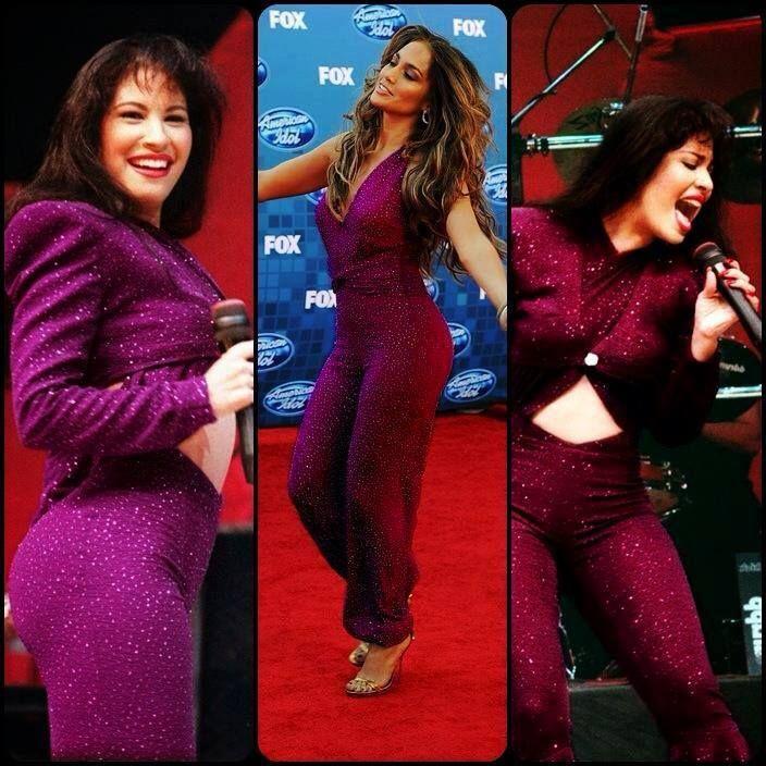 Jennifer Lopez In A Selena Inspired Outfit Love Selena Loved