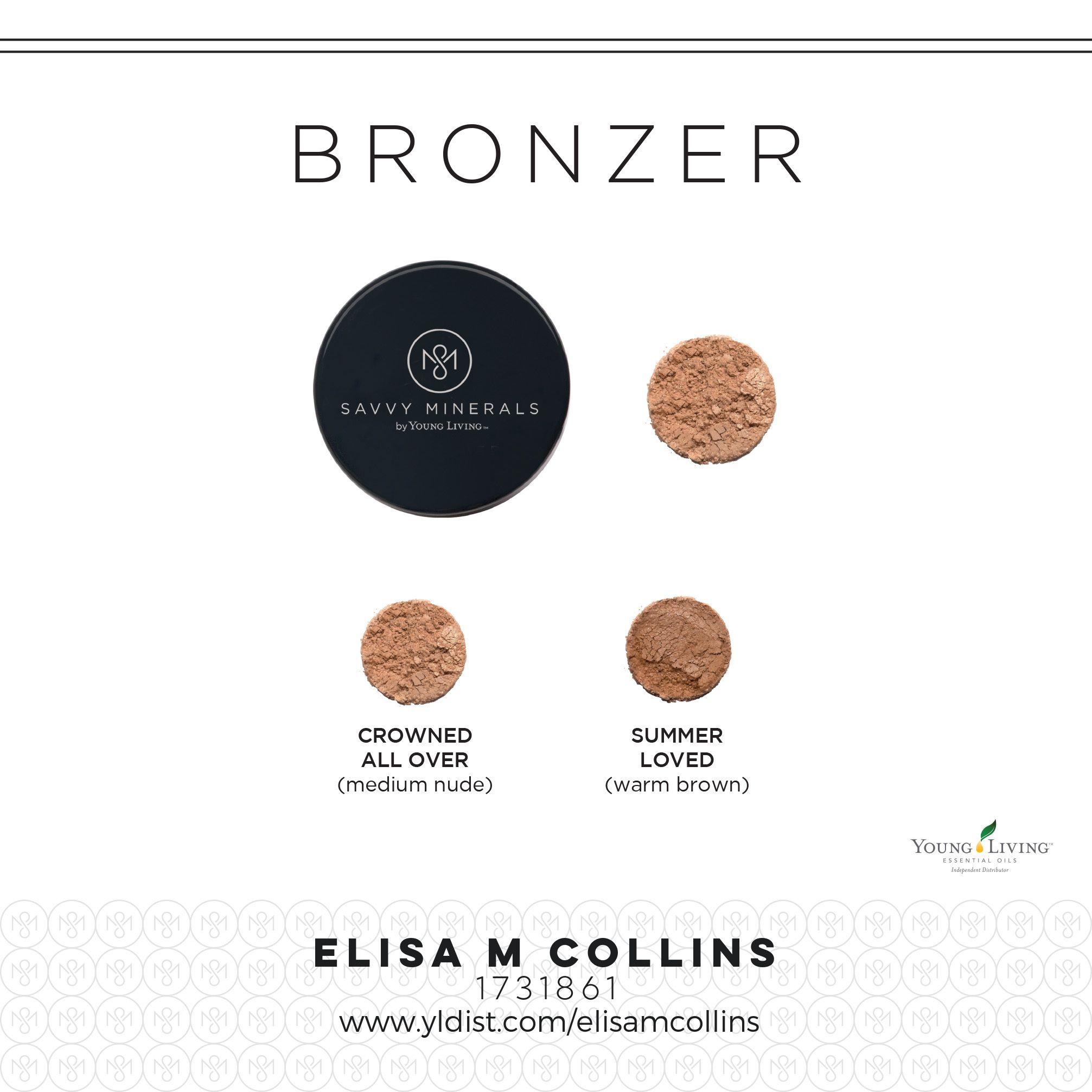 Bronzer selections Savvy minerals, Mineral bronzer