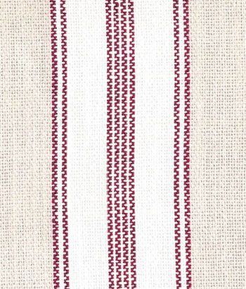 French Ticking Fabric - available by-the-yard, or as pre-made curtains and pillows -- Country Curtains
