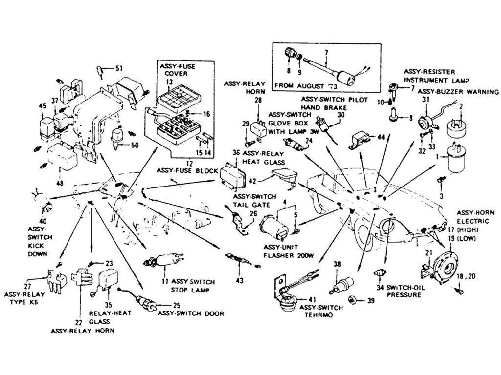electric unit & switch (1) (to nov -'74)
