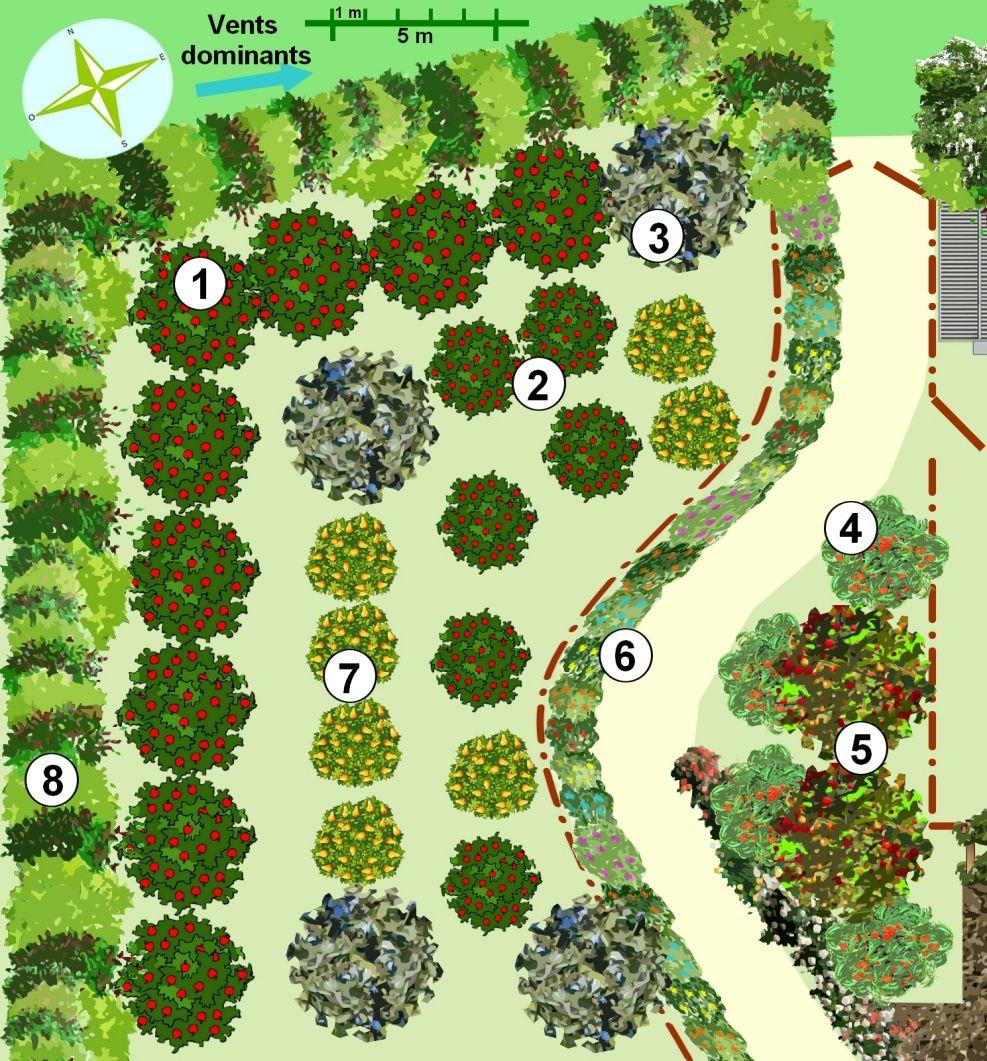 crer un jardin en permaculture plan - Jardin Permaculture