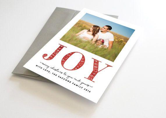 Christmas Card with Photo, Christmas Card Photo, Photo Christmas