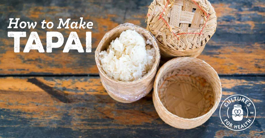 Fermented Rice Tapai (Tape) Recipe in 2020 (With