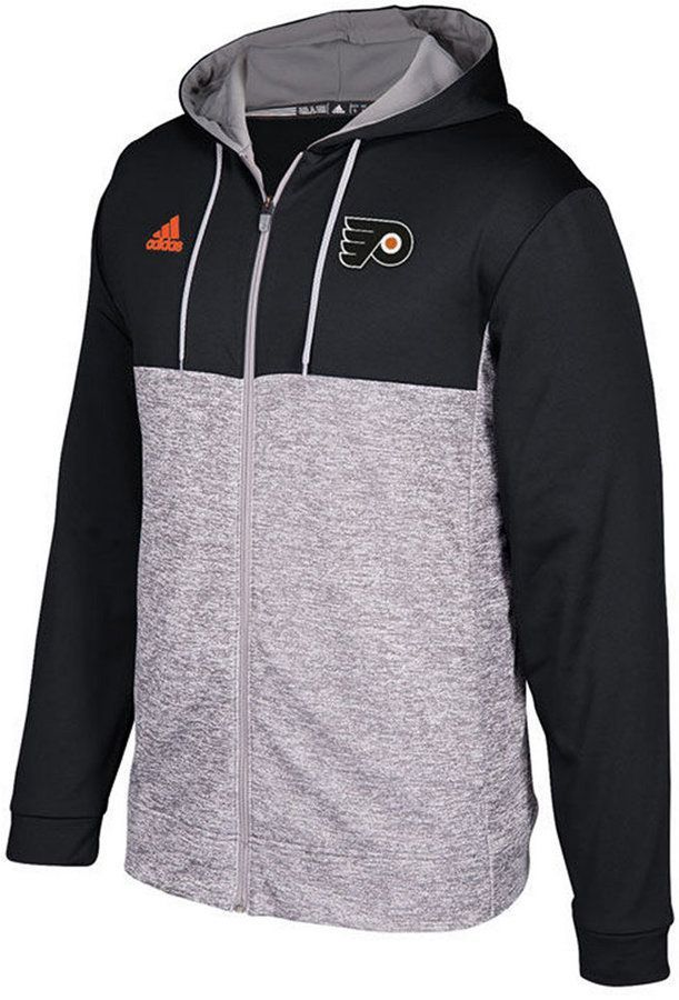 0a1b38ebd adidas Men s Philadelphia Flyers Two Tone Full-Zip Hoodie