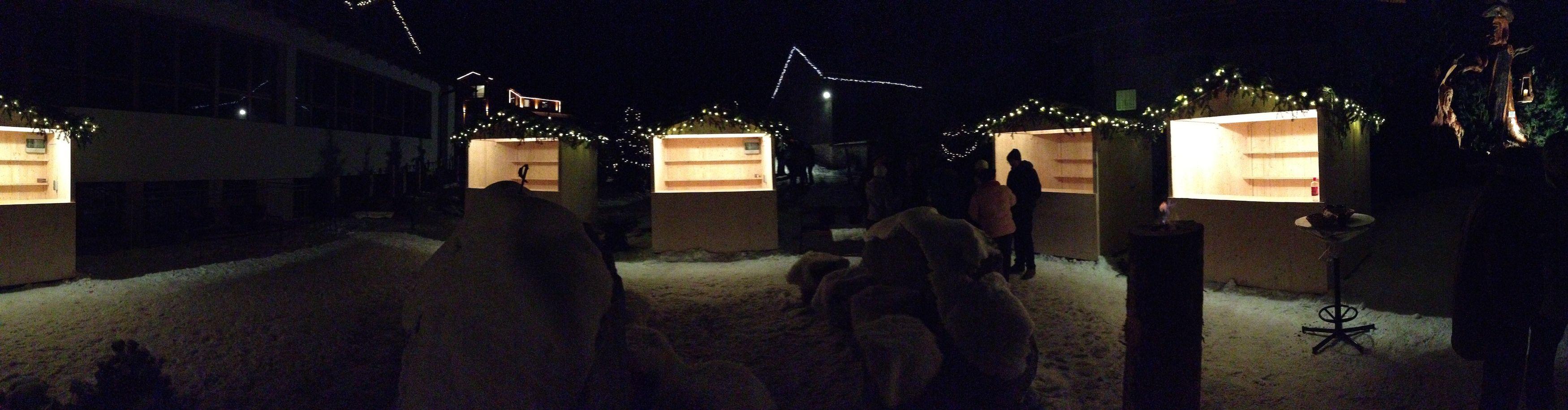 WinterwunderTal Adventsmarkt im Kaunertal. Mit Streichelzoo