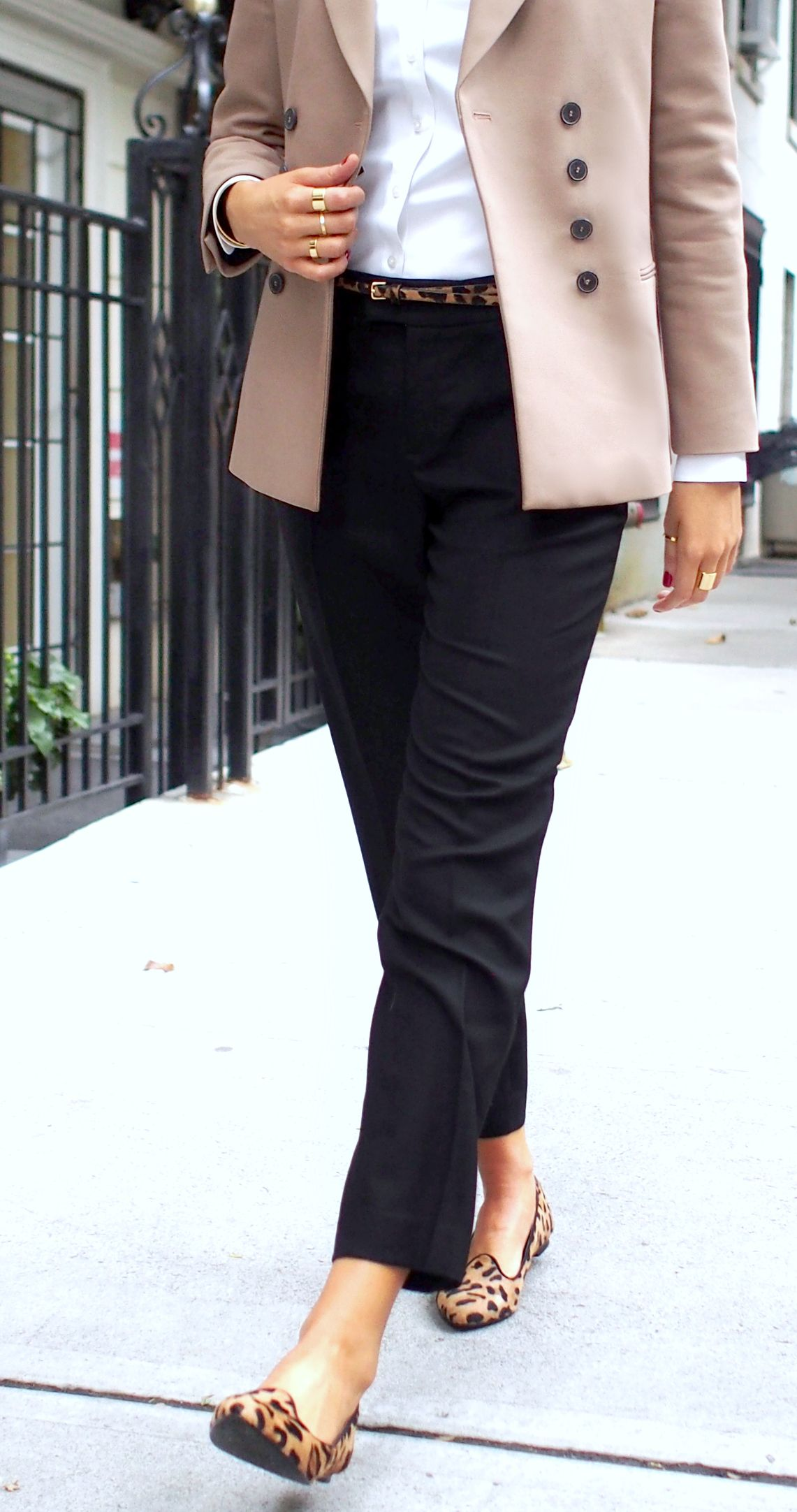The classy cubicle leopard loafers the fashion blog for professional women in need of office - Brooks brothers corporate office ...