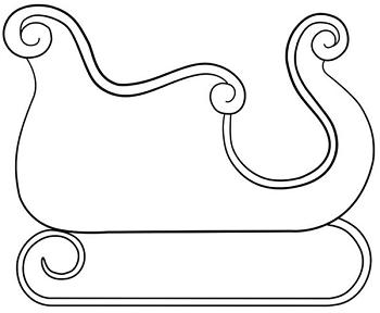 Comment dessiner un traineau dessin pinterest - Traineau de noel dessin ...