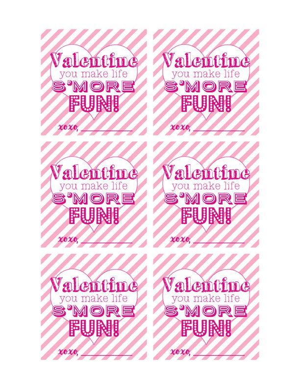 Valentineu0027s Day Su0027mores