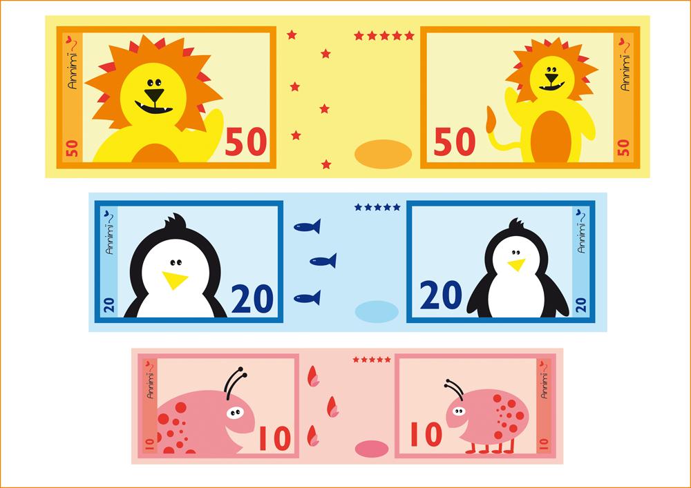 Spielgeld zum Ausdrucken (Free Download) | Annimi - DIY | Pinterest ...