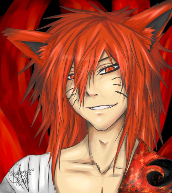 Kurama (human form) | Naruto | Naruto, Naruto uzumaki