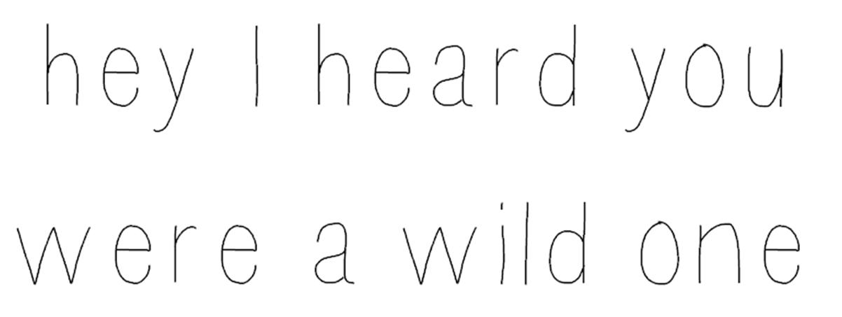 take a walk on the wild side