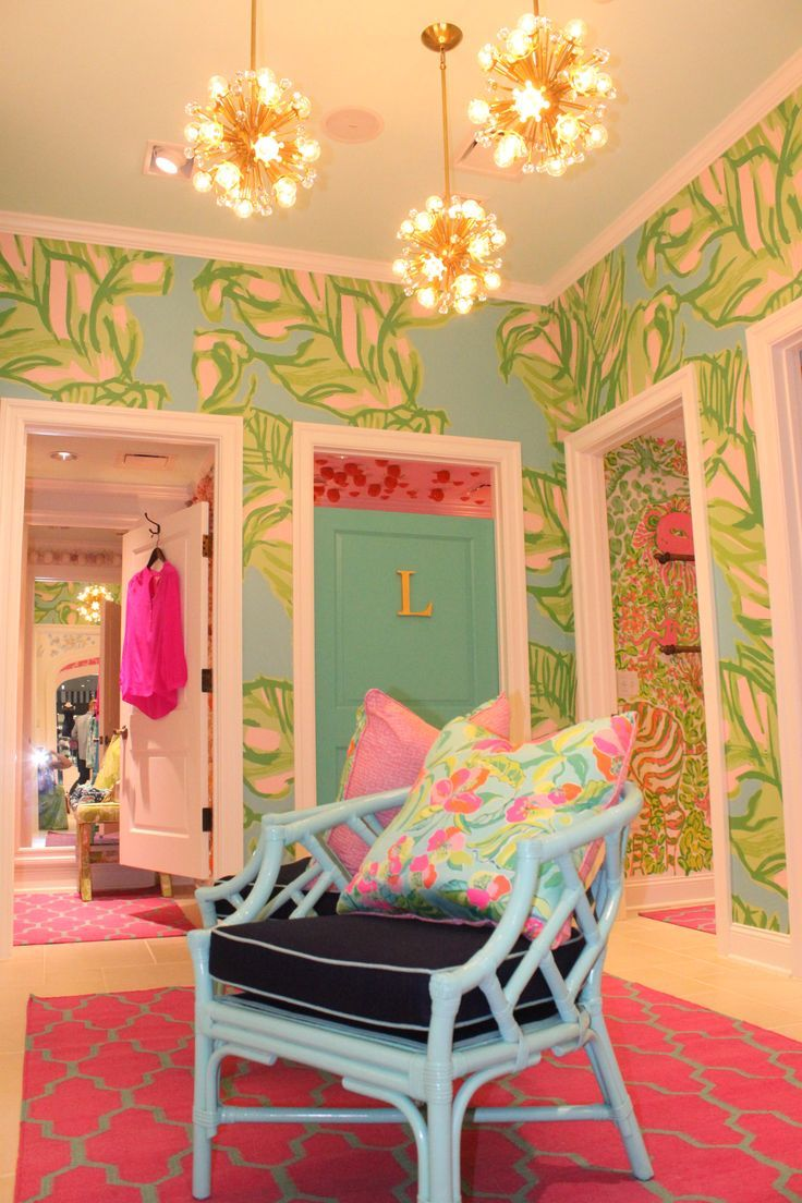 Dressing Rooms At Lilly Pulitzer Westchester Walls Paper