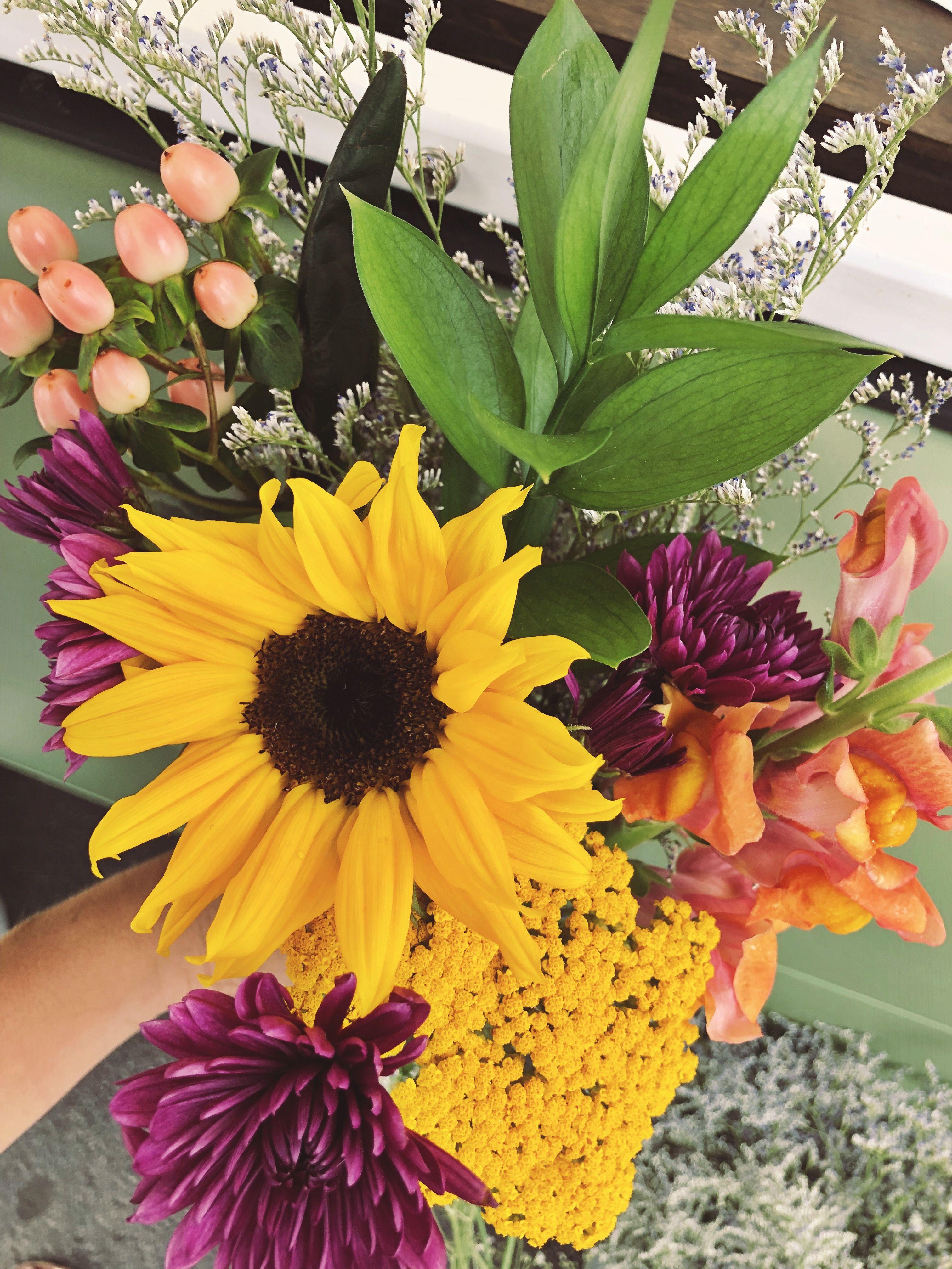 Create Your Own Bouquet Mobile Flower Shop Flower Truck