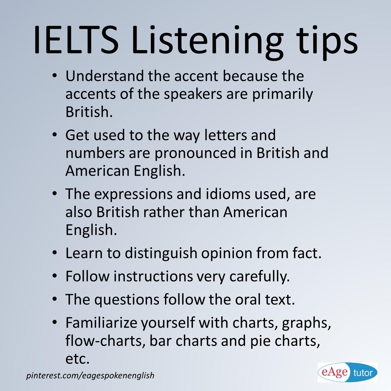 IELTS Listening Tips. #Practice #IELTS #Tips www ...
