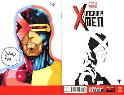 X-Men Blank Cover - Cyclops by Guillomcool