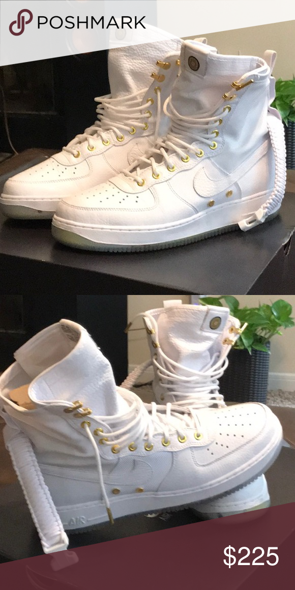 SF AF1 LNY QS Theses Air Force 1's feel like a bootWHITE
