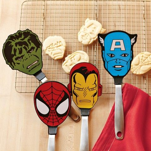 Charmant Marvel ™ Flexible Spatulas From Williams Sonoma. Gotta Get The Hulk One! |  Stuff I Love | Pinterest | Marvel, Superhero And Gift