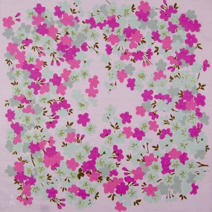 Sakura (Cherry Blossom) - Pink - Furoshiki