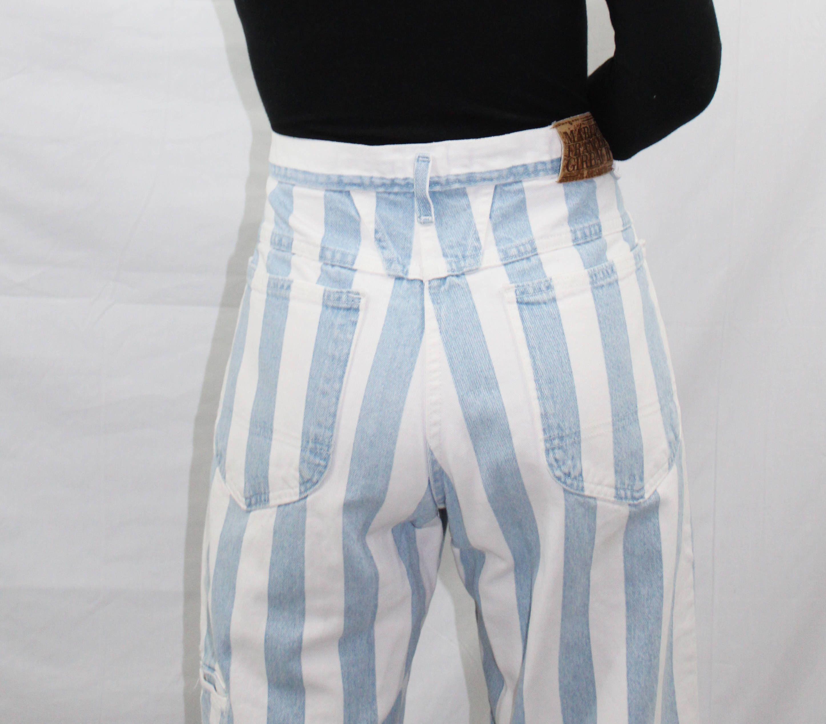 Anthropologie Elevenses Striped Wide Leg Palazzo Pants Sz L Sturdy Construction Pants Women's Clothing