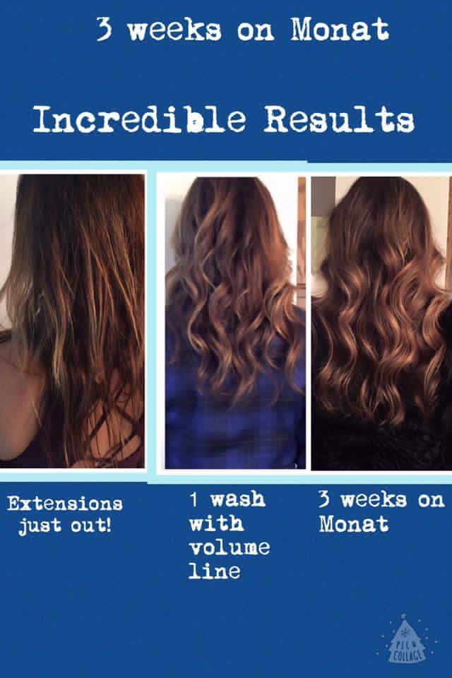 Monat Before Afters Monat Hair Hair Care Monat Before And After