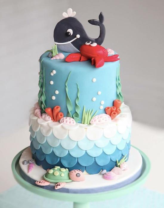 Amazing Birthday Boy Whale Birthday Cake Ocean Birthday Cakes Birthday Personalised Birthday Cards Sponlily Jamesorg