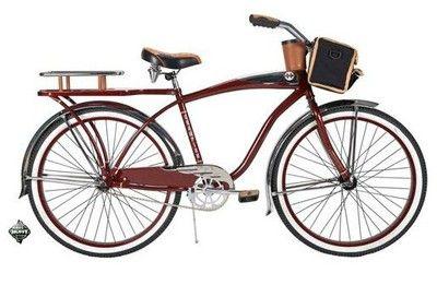 New Huffy 26 Men S Beach Cruiser Comfort Bike Bicycle Red On
