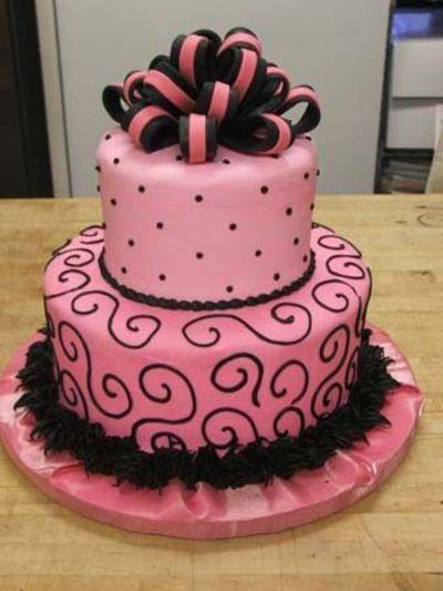 Grown Girly Cake Cute Birthday Cakes Beautiful Cakes Cake