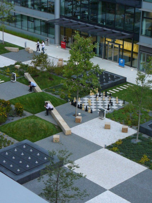 A patchwork in the park by cigler marani architects for Architektur design studium