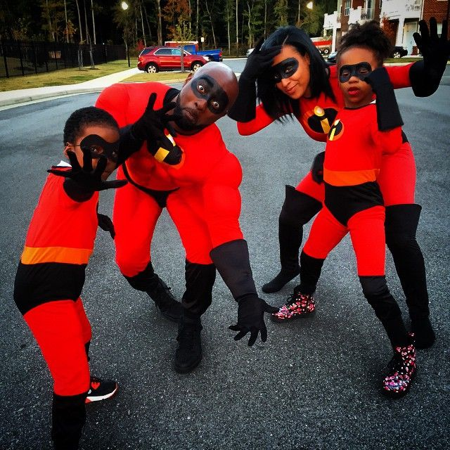 "youngblackandvegan: ""robhillsr: ""The Incredibles "" black family excellence """